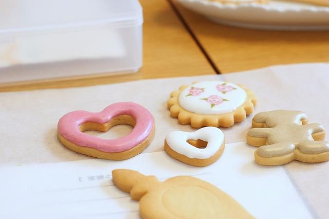 川西市アイシングクッキー教室 シュガーブロッサムさま