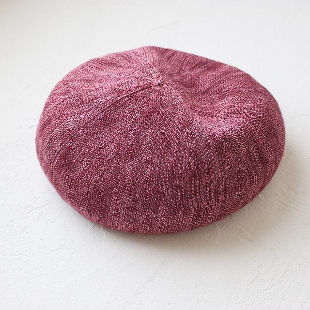 メッシュの春夏用ベレー帽