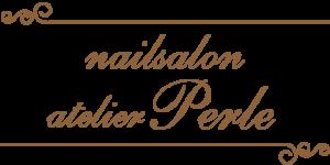 インスタグラム用に作成したサロンのロゴ:ネイルサロン「アトリエ・ペルル」さま