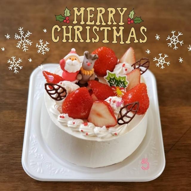単発1dayスマホカメラ講座:受講生のクリスマスケーキ写真(Instagram)