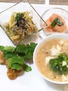 受講生の料理写真(ビフォー)