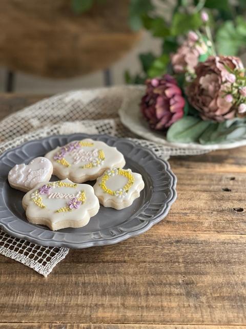 受講生のアイシングクッキー写真(アフター)