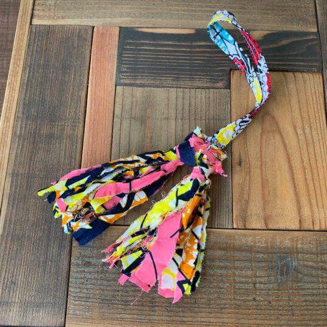 受講生のビフォー写真 ハンドメイド布バッグ